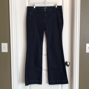 Loft Modern Trouser Denim 12